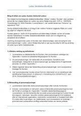 Databehandleraftale ledoc system lekon rådgivning