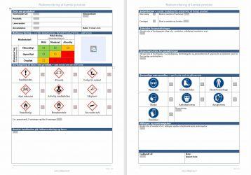 Formular til kemisk risikovurdering