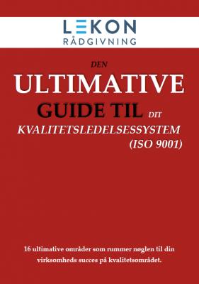 Lekon Den ultimative guide til dit kvalitetsledelsessystem
